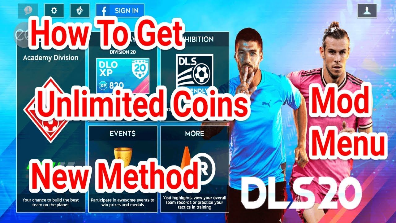 Dream League Soccer 2020 7 16 Apk How To Get Unlimited Money Mod Menu In 2020 Hack Free Money Game Data Game Download Free