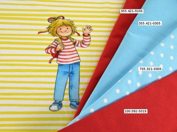 Baumwolljersey Conni Streifen Panel 2 Anziehsachen Pinterest