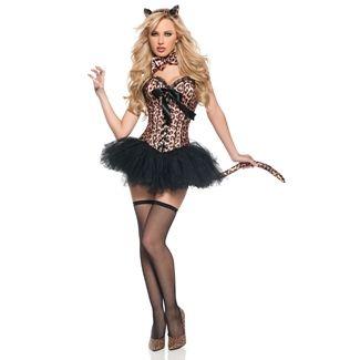 Leopard Adult Tutu Halloween Costume