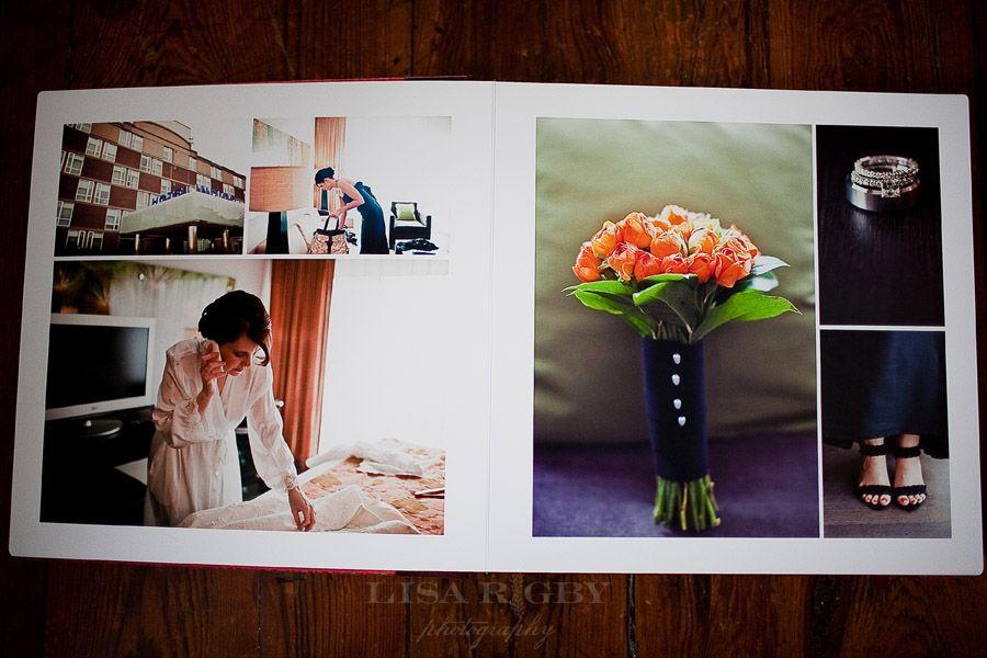 Layout Inspiration Wedding Album