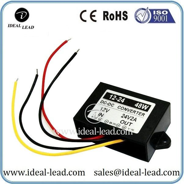 48w 2a 12vdc To 24vdc Dc Dc Boost Converter For Led Lights Converter Dc Dc Converter Boosting