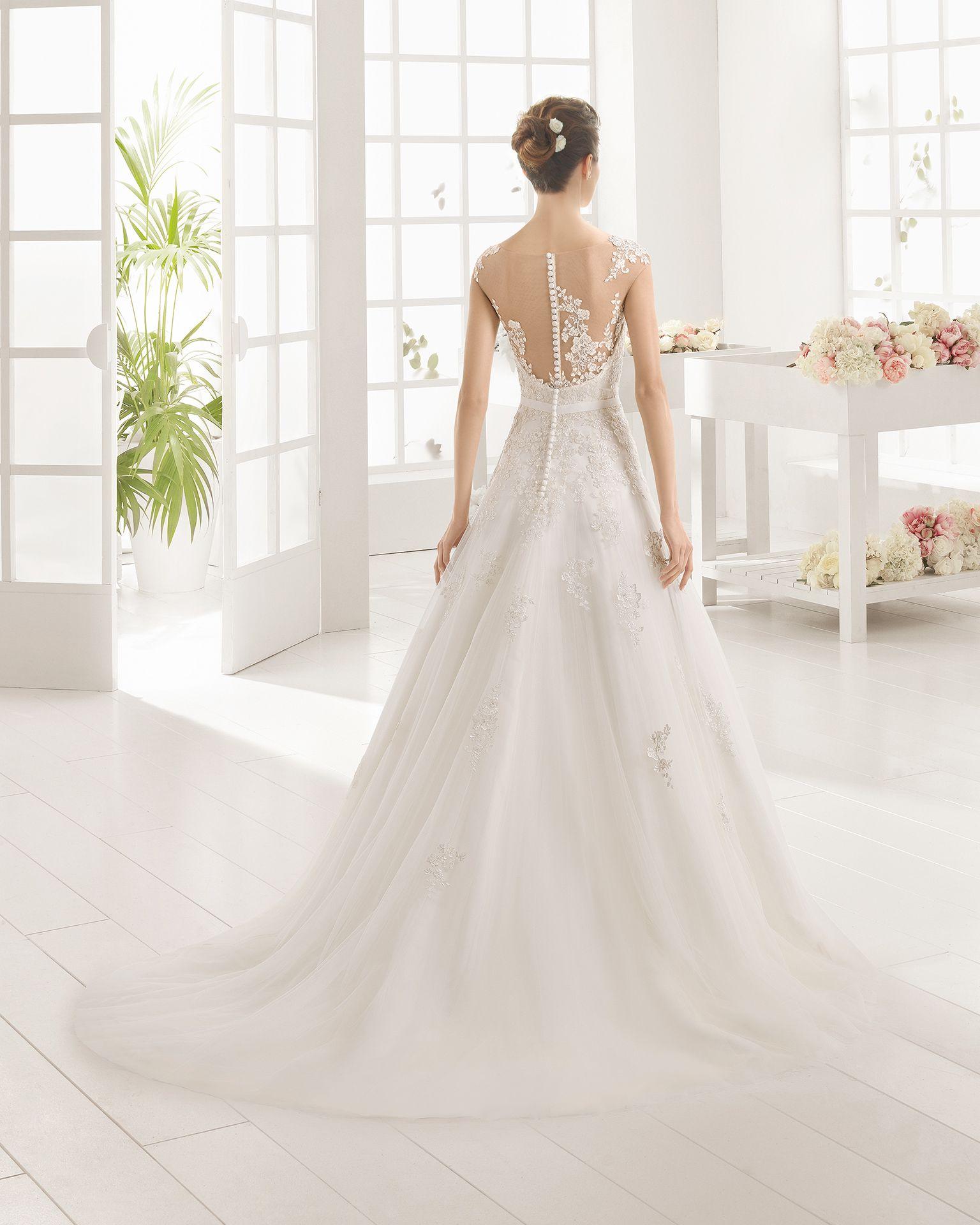 Mosai Novia 2016 Coleccion Aire Barcelona Wedding Dresses Beautiful Wedding Dresses Dresses