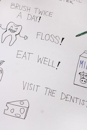 Dentist Worksheets for Kindergarten Make A tooth Care