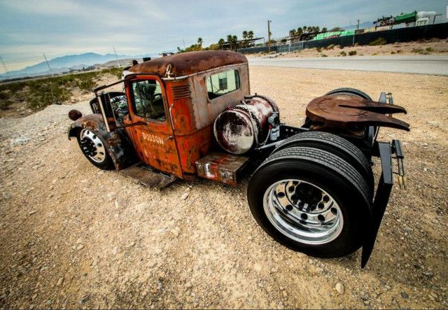 Rat Rods Cummins Powered 1938 Mack Rat Rod Is Smothered In