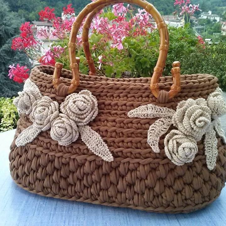 Pin von beside crochet auf Crochet Bags | Pinterest
