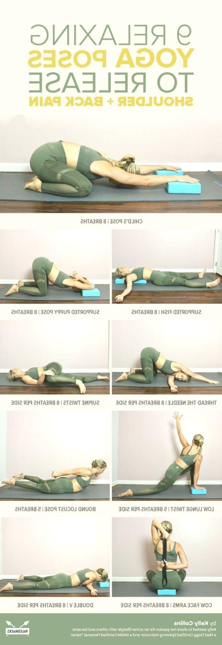 9 Entspannende Yoga-Übungen zur Befreiung von Schulter- und Rückenschmerzen  #... - #Befreiung #Day...