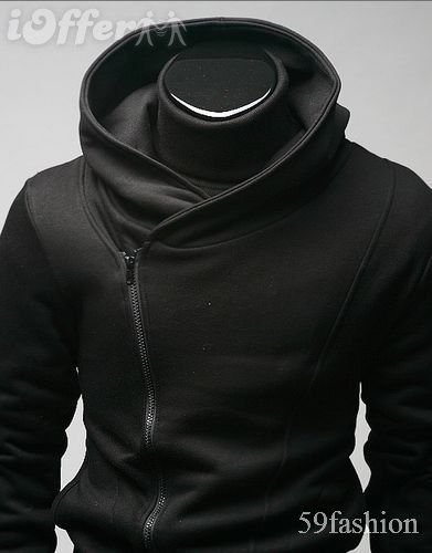 cross zip hoodie Korean Fashion Men 062fbb753d888