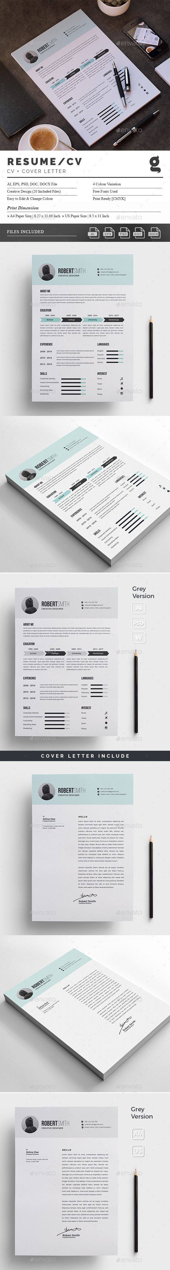 Resume/CV Resumes Stationery Download here https