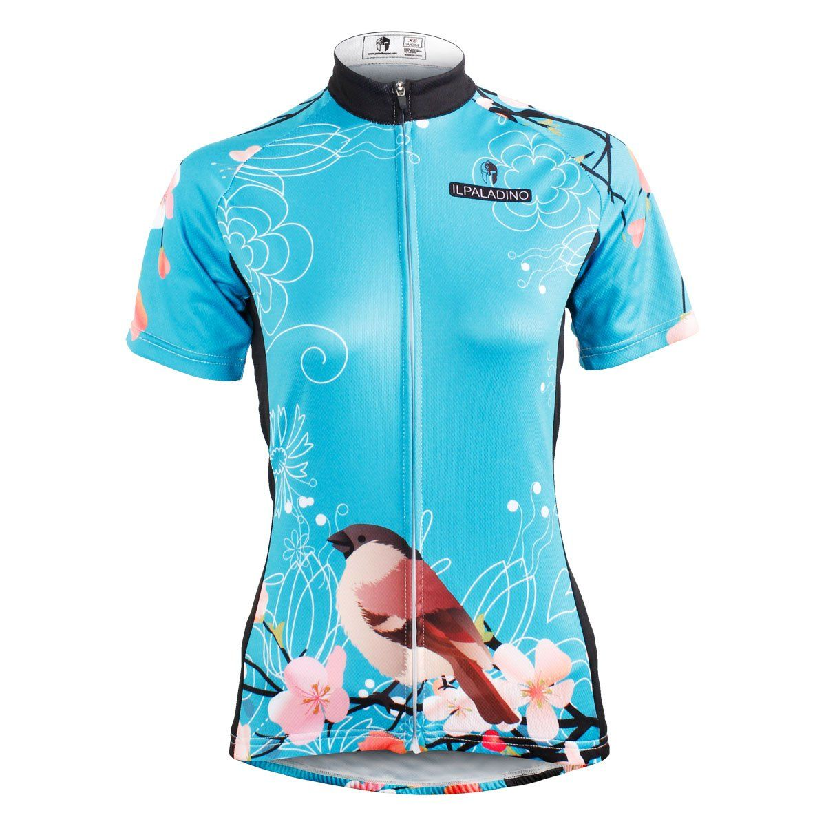 Ilpaladino Women s Peach Blossom  Magpies Cycling Jersey Short long Sleeve  Breathable Summer Bicycling Clothes Apparel Outdoor Sports Leisure Biking  Shirt ... 4c1991c58