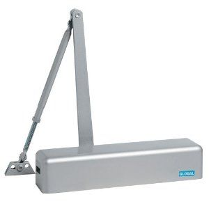 Global Tc612 Al Adjustable Spring Hydraulic Full Cover Door Closer Aluminum By Global 59 79 From The Manuf Closed Doors Door Closer Adjustment Door Closers
