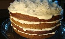 Glutenfreeda.com: Pumpkin Layer Cake with Cream Cheese Frosting