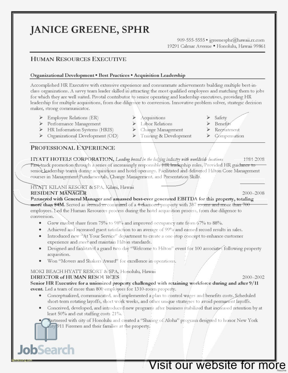 Security Guard Resume Example Free security guard resume