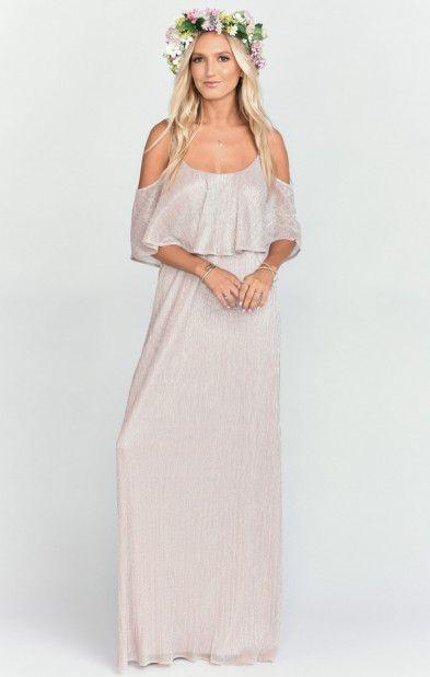 Show Me Your MuMu Blush Amanda Maxi Dress   Maxi