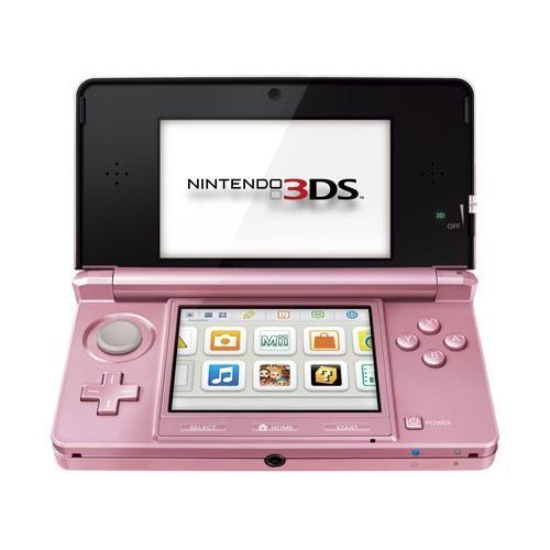 Nintendo 3ds Rose Corail 3ds Nintendo Console Nintendo 3ds Nintendo