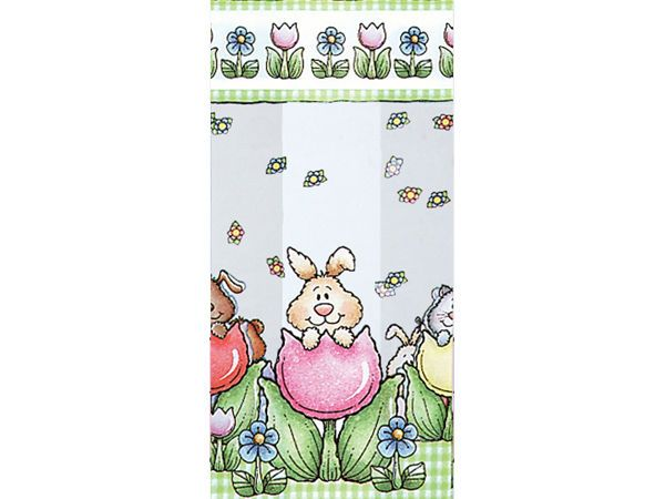 Springtime flowers tulips animals cello cellophane candy gift springtime flowers tulips animals cello cellophane candy gift party bags easter negle Images