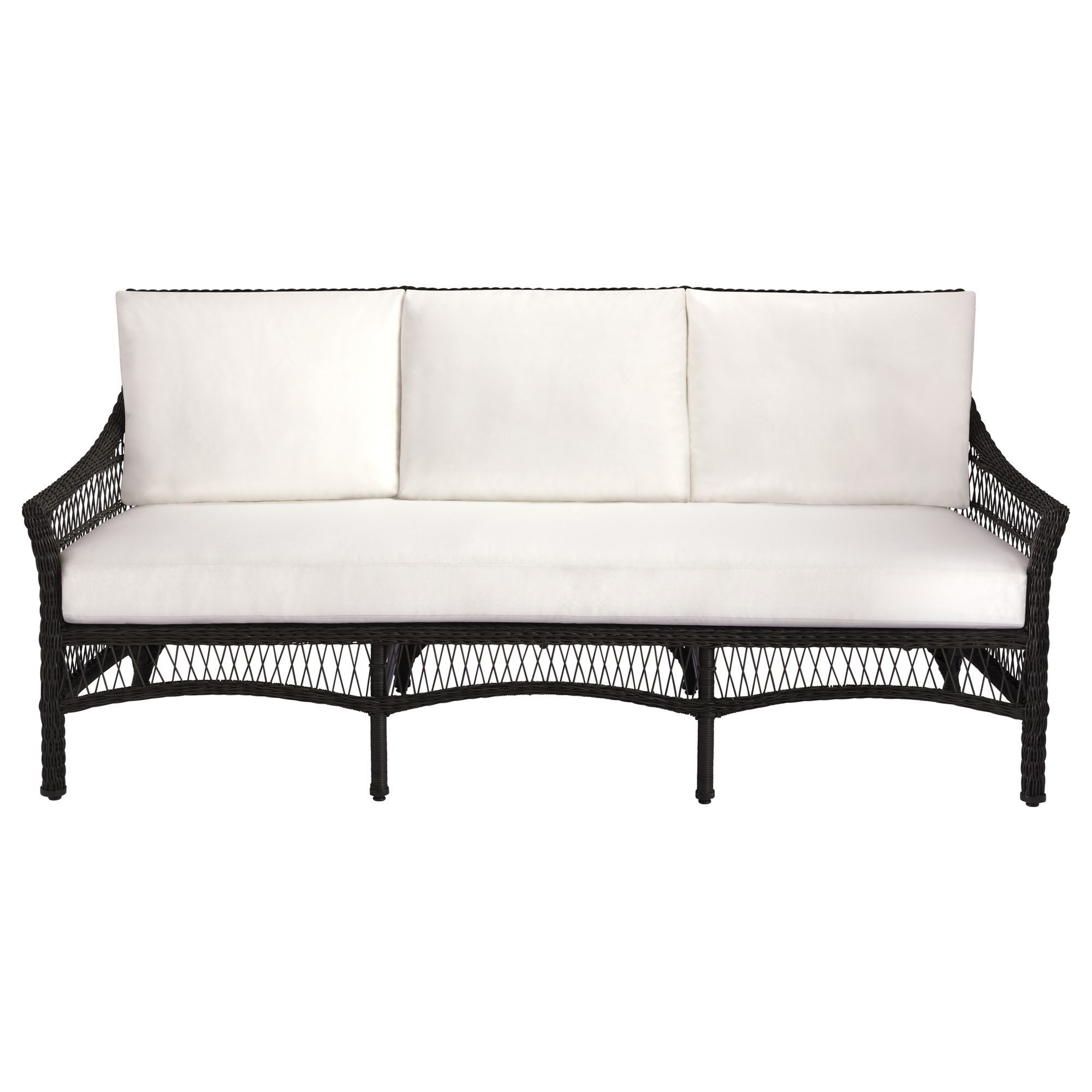 Buy Water Mill Settee By McGuire Furniture