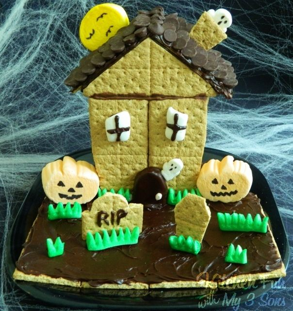 Kitchen Fun With My 3 Sons: House of Spooky S'mores