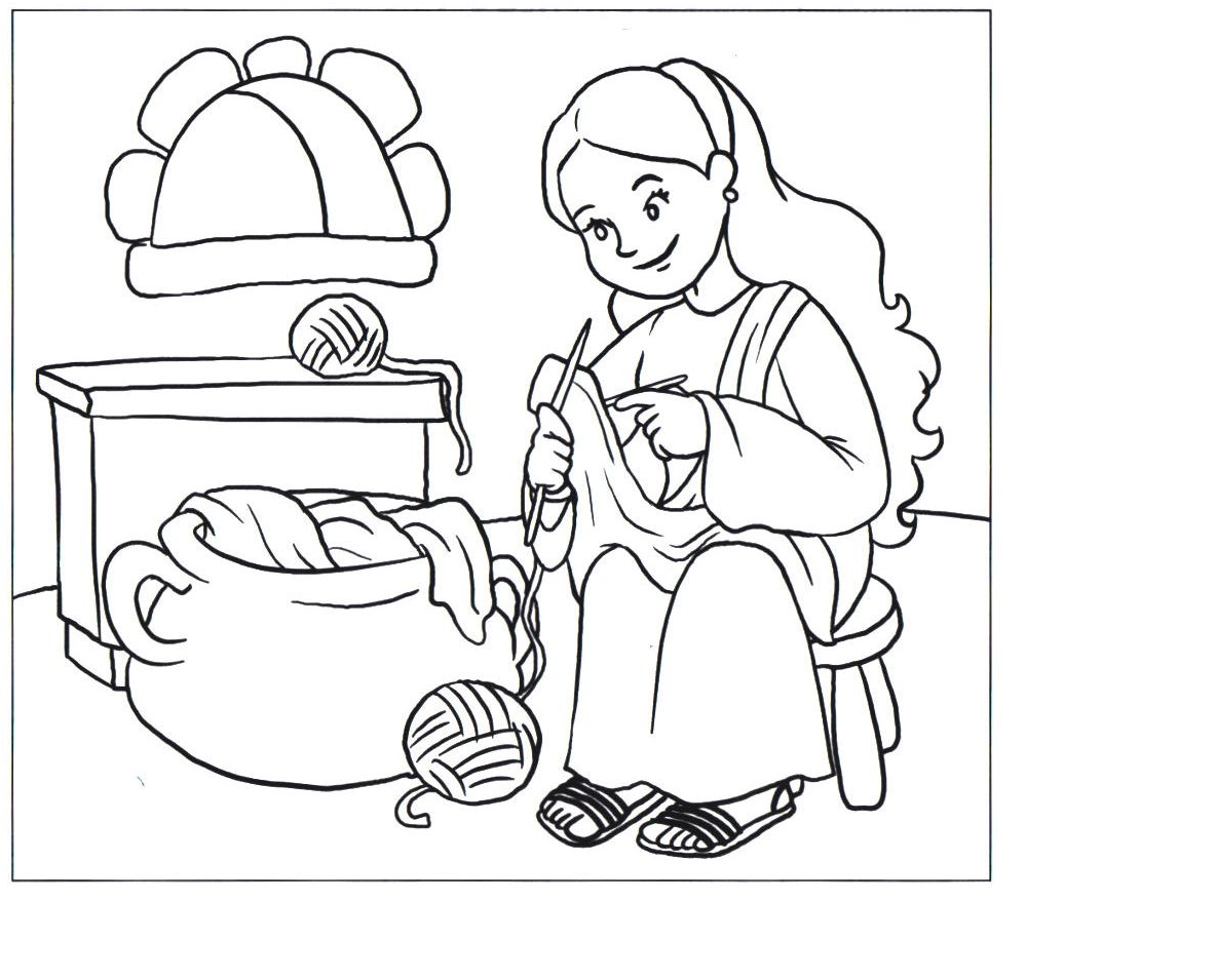 tabitha coloring pages - photo#17