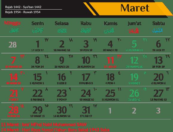 Download Kalender 2021 Indonesia - Download kalender 2021 ...