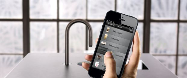 coffee iPhone app for luxury real estate