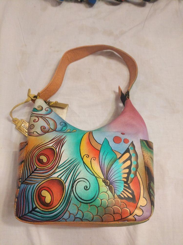 4a2586947d8 Anuschka hand painted purse  fashion  clothing  shoes  accessories   womensbagshandbags (ebay