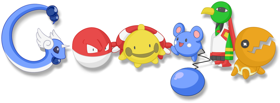 POKEMON GOOGLE DOODLE by on