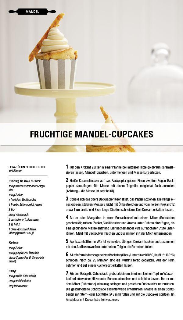 Rezept Fruchtige Mandel Cupcakes Besuche Jetzt Die Gewurzwelt Von Juzo Kompressionsstrumpfe Fur Jeden Geschmack Pikante Gerichte Krokant Mandel