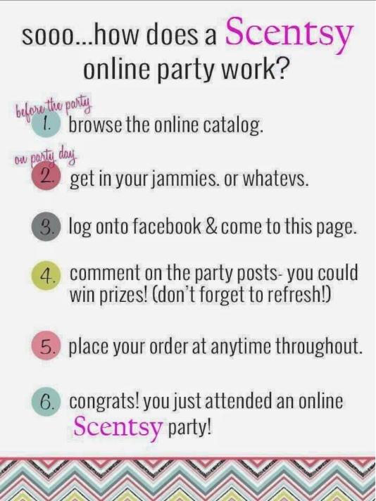 Scentsy Online Party Scentsy Online Party Scentsy Party Scentsy Facebook Party