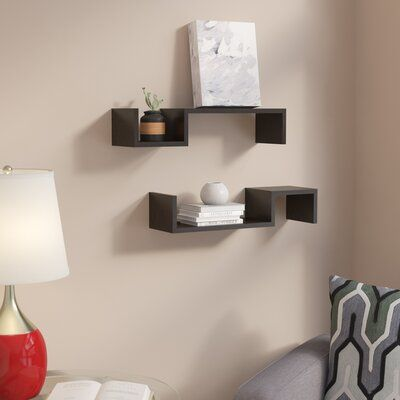 Pin by Yasi on Bedrooms | Wall shelves, Shelves, Metal ...