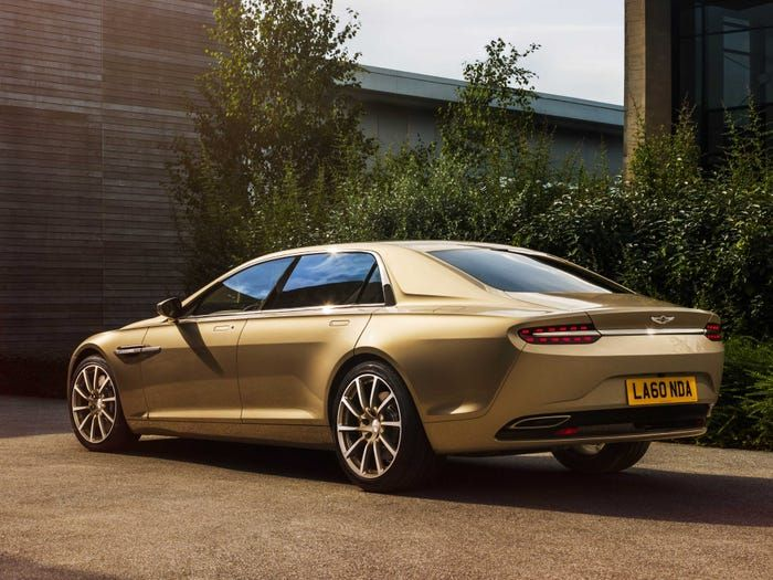 Aston Martin's top-secret Lagonda Taraf super-sedan has arrived and it could cost $1.7 million