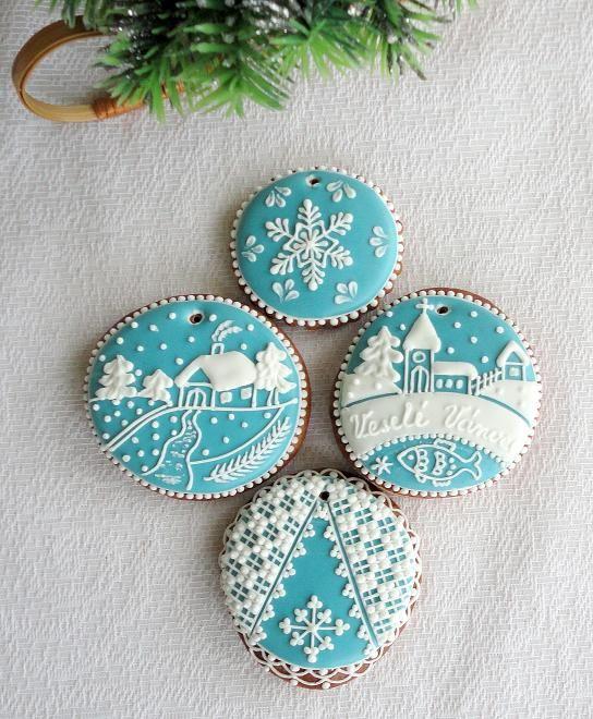 Decoraciones de navidad cookies pinterest navidad - Decoraciones de navidad ...