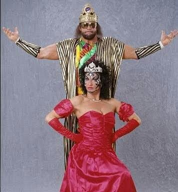 Image result for wwf scary sherri and macho king