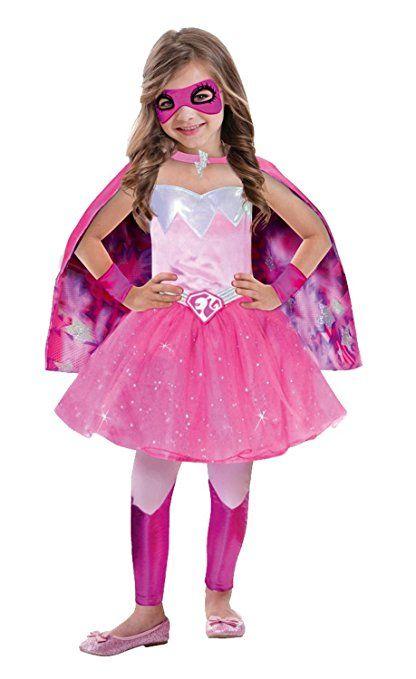 Amscan 999341 Kinderkostum Barbie Super Power Prinzessin Circa 8
