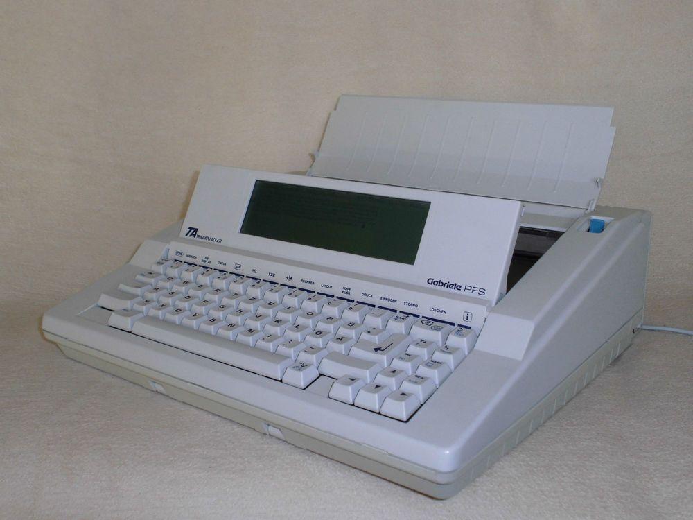 Elektronische Schreibmaschine Triumph-Adler Gabriele PFS