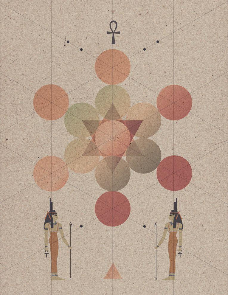 sacred geometry - Pilar Zeta