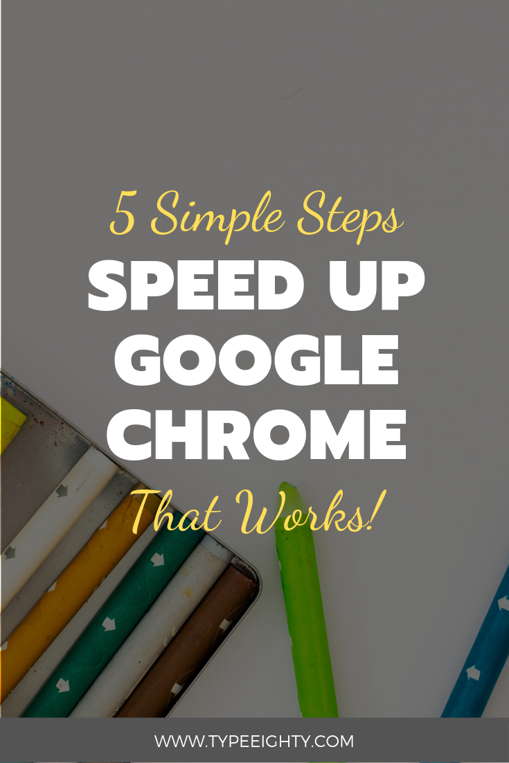 7 Ways to Speed up Chrome Browser | Bloggy Badass | Blogger Group