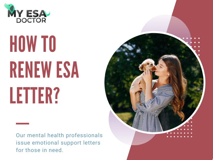 How To Renew Esa Letter Esa Letter Emotional Support Animal Emotional Support