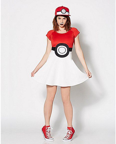 pokeball dress pokemon family halloween
