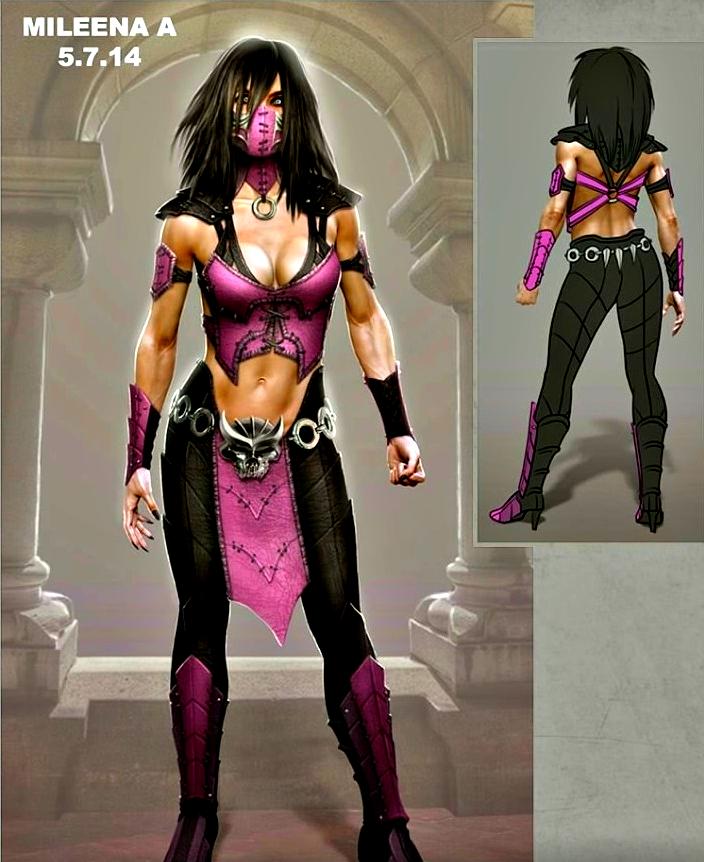 Mortal Kombat Mileena cosplay by aretasan on DeviantArt