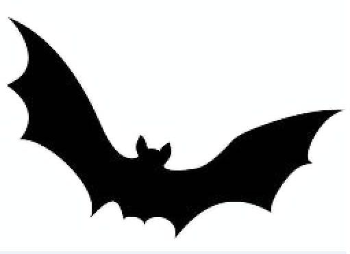 Bat Template To Cut Out  Halloween Cut Out Templates  Class