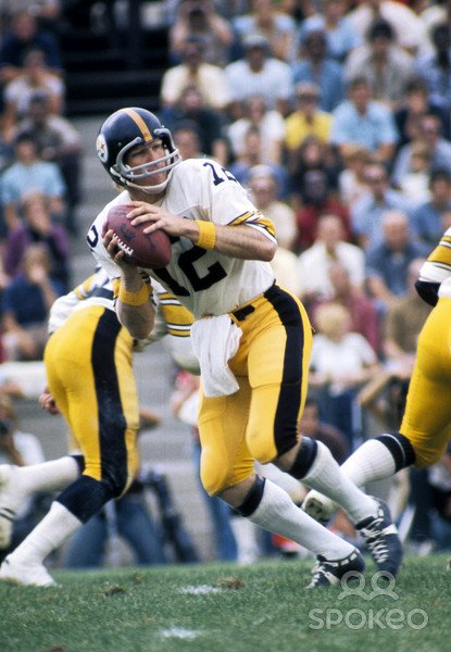 Vintage NFL by Rick Steelers football, Pittsburgh