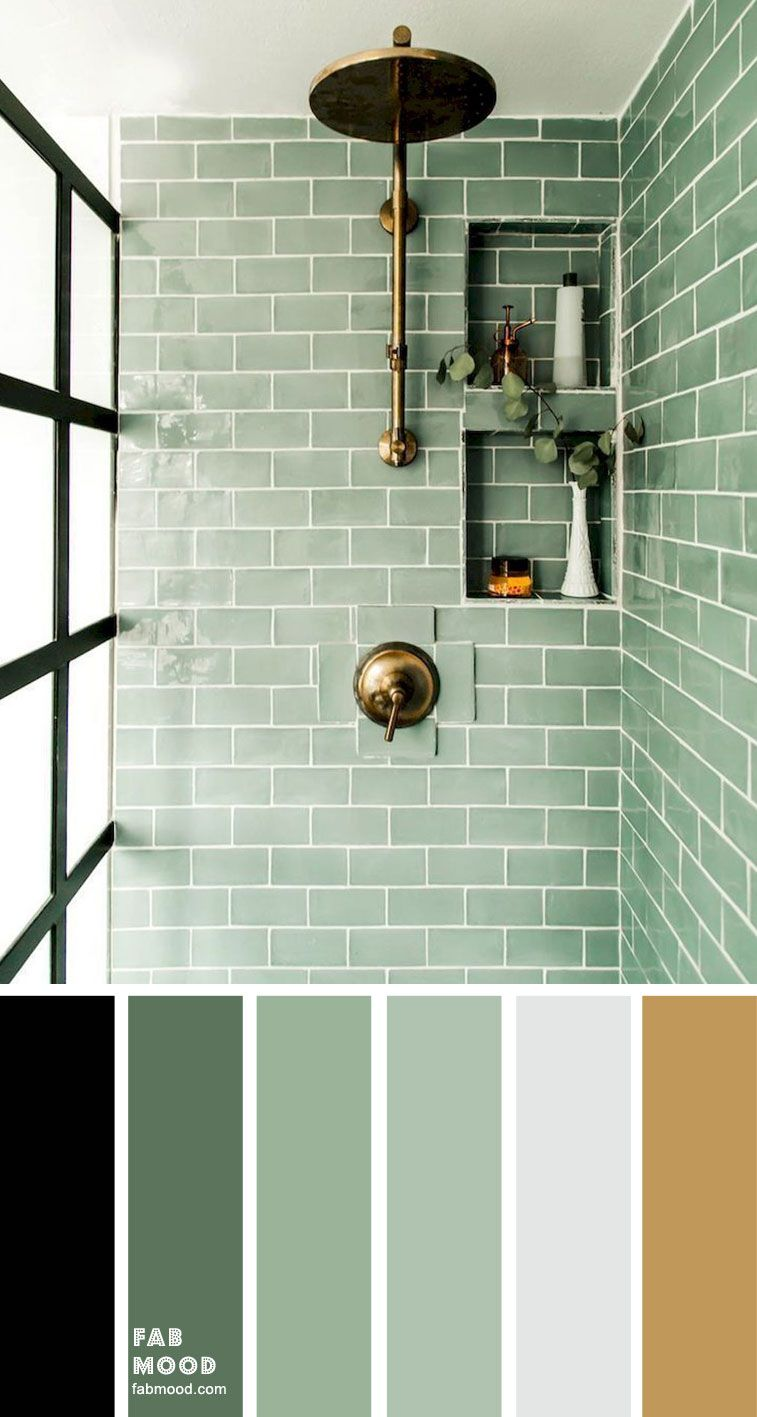 8 Beautiful Color Schemes For Bathroom Color Ideas In 2020 With