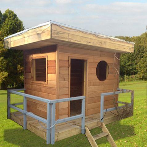 Cabanebois La #cabane en #bois modèle #Josephine est précisément né - Plan Maison Bois Gratuit