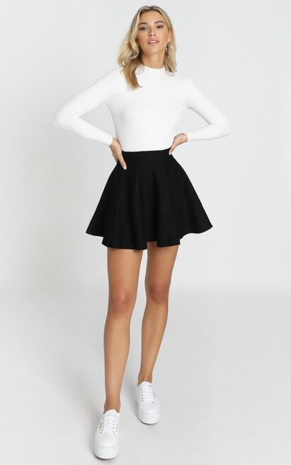 Real Deal Skirt In Black Showpo In 2020 Cute Skirt Outfits Tennis Skirt Outfit Fashion Inspo Outfits