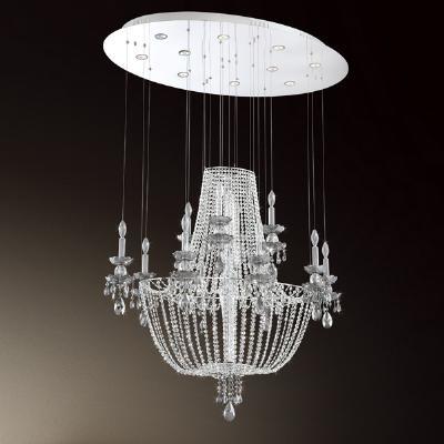 Glass Chandelier From Urban Lights Denver