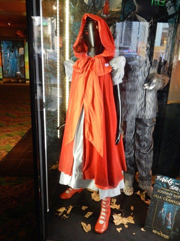 Johnny Depp S Wolf Costume And Lilla Crawford S Red Riding Hood