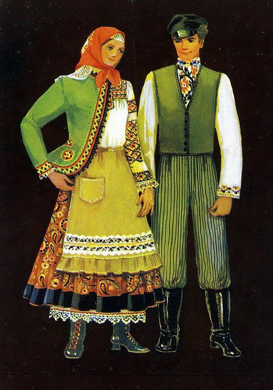 Традиционная одежда Украинских областей  2a36a38ef559d