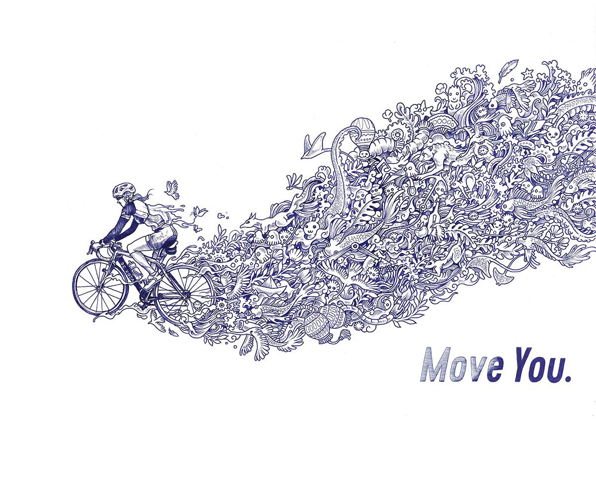 Kerby Rosanes Illustrator Portfolio Aquarius Sports Move You Aquarius Illustration Coloring Pages