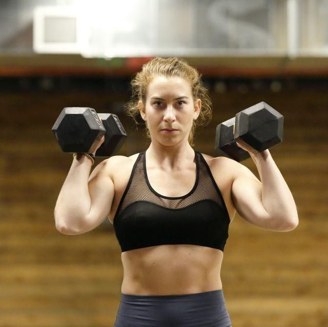 10 Dumbbell Exercises That'll Open Up Your Shoulders #dumbbellexercises 10 Dumbbell Exercises That'll Open Up Your Shoulders