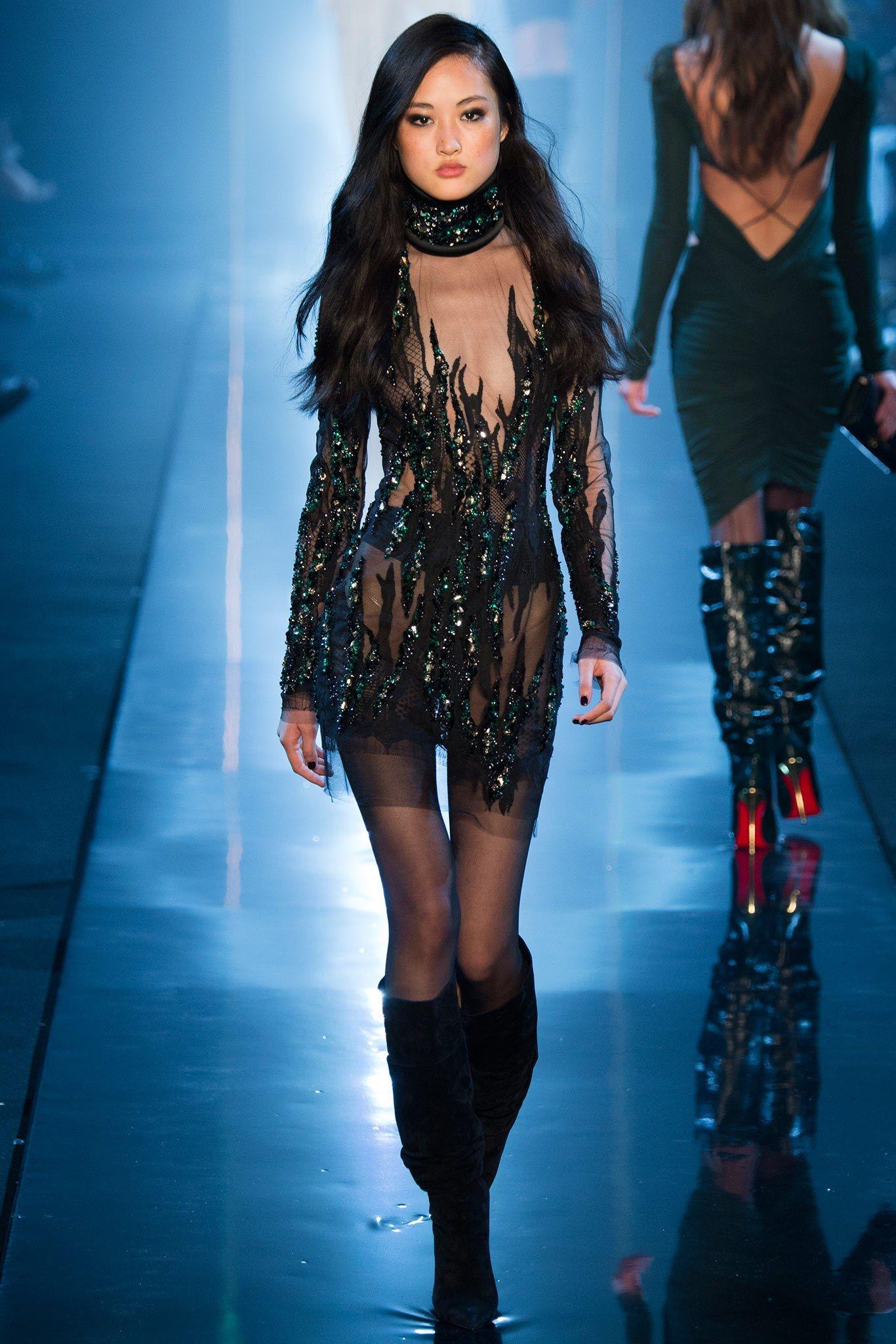 Alexandre Vauthier Spring 2015 Couture Fashion Show - Jing Wen (Elite)